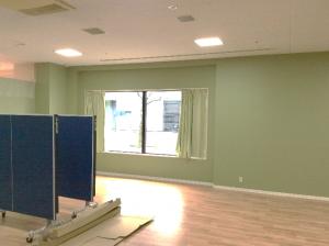 壁も綺麗に塗り替えました