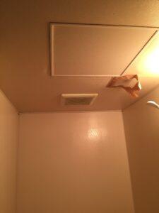 お風呂の天井リフォーム