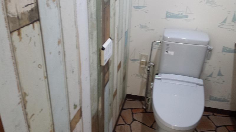 トイレ床・壁クロス