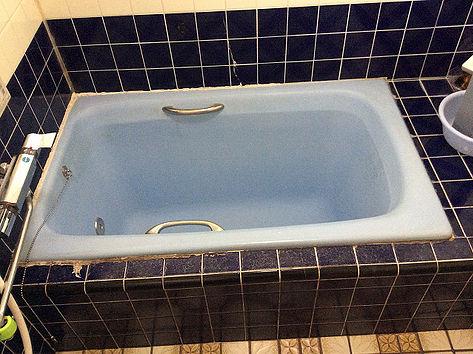 ホーロー浴槽