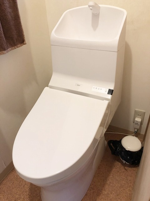 トイレ施工後